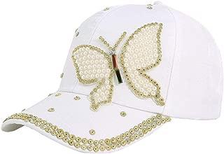 Hyack Gorras de béisbol de Las Mujeres Algodón Mariposa Bordado ...