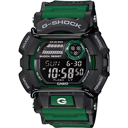 Casio GD-400-3CR - Orologio da polso da uomo, cinturino in resina colore verde