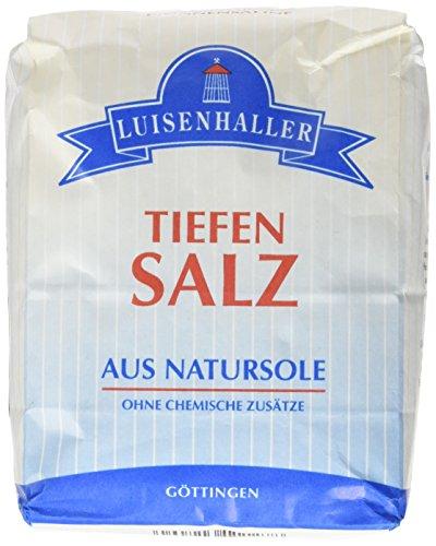 Luisenhaller Tiefensalz aus Natursohle 10er Pack (10 x 1000g)
