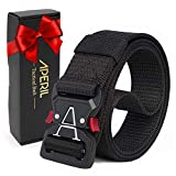 Caqui Hosaire 1X Cinturones de Lona para Hombres Pretina Cintur/ón de Lona de los Hombres al Aire Libre no de Metal Hebilla de Pl/ástico Casual Jeans Entrenamiento de Cintura