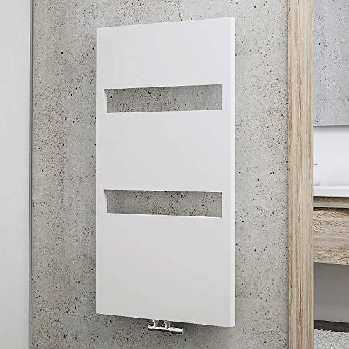 Schulte EP113560 04 Turin Badheizkörper, alpinweiß, 114 x 60 cm