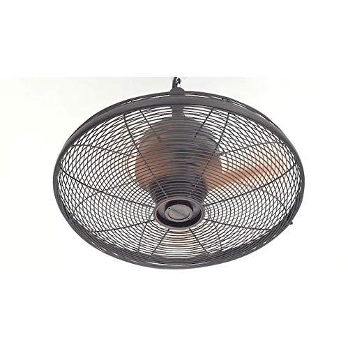 allen + roth Valdosta 20-in Oil Rubbed Bronze Indoor/Outdoor Downrod Ceiling Fan (3-blade)