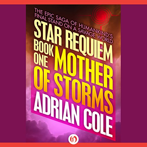 Mother of Storms audiobook cover art