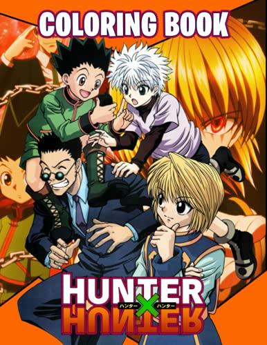 Hunter x Hunter Coloring Book: ready To Colour Hunter x Hunter Anime...