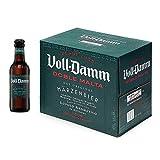 Damm - Cerveza Voll-Damm Doble Malta, Caja de 12 Botellas 25cl Cerveza Doble Malta, Estilo Märzenbier, 100% Ingredientes Naturales, Original, en Botellín