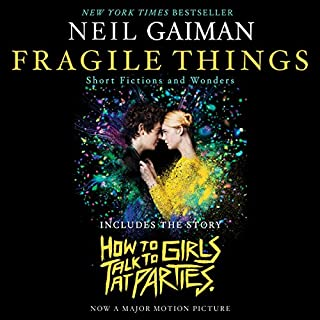 Fragile Things audiobook cover art