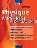 Physique Mpsi-Ptsi - Le Compagnon