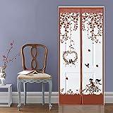 Casa de verano dormitorio cortina magnética mosquiteros en las puertas y ventanas Internet anti-mosca insectos suministran herramientas diarias para el hogar A4 W100xH210