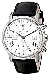 Baume & Mercier Men's 8851 Classima Executives Chronograph White Dial Watch