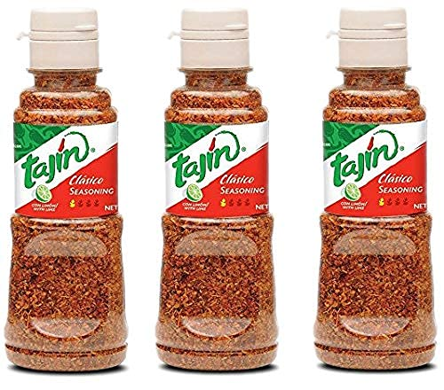 Tajin Classic, Condimento mexicano, Paquete de 3 (142 gr cada una)