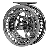 Goture Fly Fishing Reel - Large Arbor 2+1 BB with CNC-machined Aluminum Alloy Body Fly Reel Sizes 5/6
