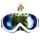 Old World Christmas 2020 Christmas Ornament Ski Goggles Glass Blown Ornament for Christmas Tree