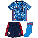 [アディダス] キッズサッカーウェア Kids サッカー日本代表 2020 ホーム ミニキット(GEM15) トゥルーブルー(ED7354) 日本 J120 (日本サイズ120 相当)