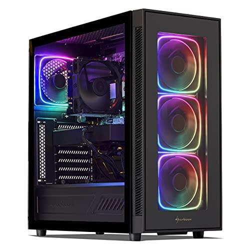Sedatech PC Pro Gaming Intel i7-9700KF 8x 3.6Ghz, Geforce RTX 3070 8Gb, 16 Gb RAM DDR4, 500Gb SSD NVMe M.2 PCIe, 3Tb HDD, USB 3.1, Wifi, Bluetooth. Computer Desktop, Win 10