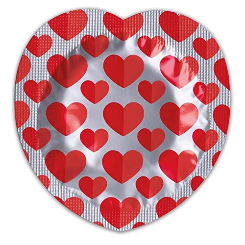 Pasante hart condooms - pak van 100
