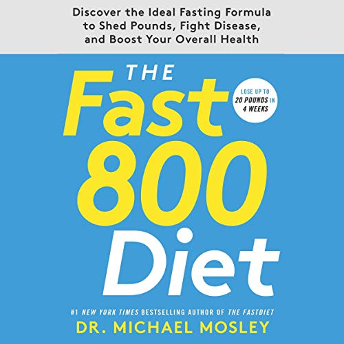 The Fast800 Diet audiobook cover art