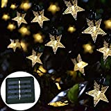 led イルミネーションライト ソーラー充電-Tradeone 30LED ストリングライト クリスマス飾り 装飾ライト ガーデンライト 電飾 2点灯モード IP65防水 クリスマス・ツリー/パーティー/ベッドルーム/アウトドア/結婚式に最適です