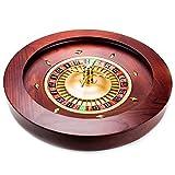 BrybellyカジノGrade Deluxe木製Roulette Wheel