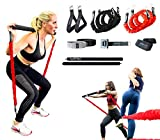 VPX Pro Fitness Home Gym 3.0 | 14pc Accessories | Adjustable Lifting System | Replaces Weight, Cable, & Machine Training with Suspension Resistance Power | Men & Women | Up to 220 lb of Resistant Max