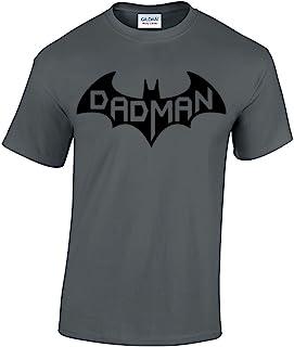 b8ba3c31 CBTWear Dadman - Super Dadman Bat Hero Funny Premium Men's T-Shirt