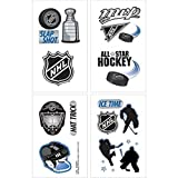 Amscan Sports and Tailgating NHL Party NHL Ice Time! Temporary Tattoos Favours, Paper
