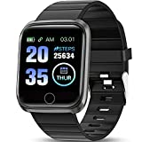 ANCwear Fitness Tracker with Heart Rate Sleep Monitor and Blood Pressure, Activity Tracker for Women Men Kids Compatible with iPhone Android Phones