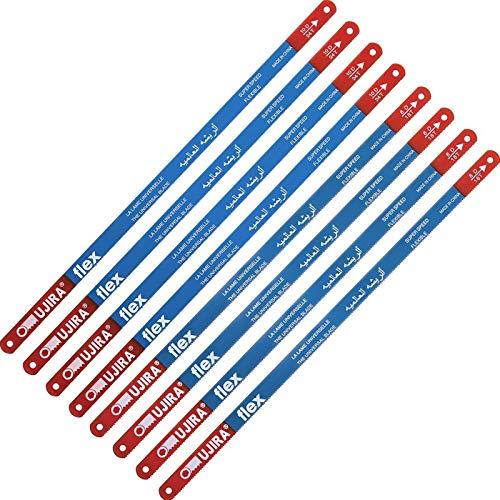 20 Stücke Bügelsäge Ersatz Klingen Metall Schneid Sägeblatt mit 18 Zähnen und 24 Zähnen pro Zoll
