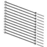 TooTaci Tensor de mano de 6 pulgadas de largo con rosca para kit de barandilla de cable de 1/8 pulgadas, grado marino T316 de acero inoxidable – paquete de 12