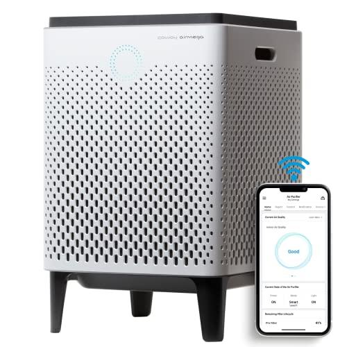 Coway Airmega 300S purificador de Aire con WiFi, Funciona con Dash Replenishment, Blanco, único