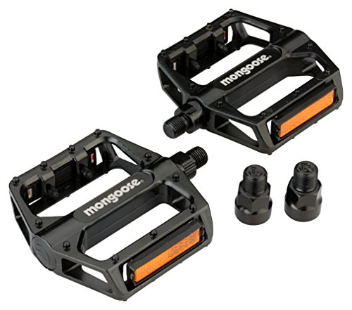 Mongoose Mountain Bike Pedal Fits 9/16' & 1/2' Pedals