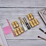 Extensión de pestañas Kit de elevación de pestañas Set de herramientas de maquillaje para un crecimiento nutritivo para ondular ondulado semipermanente para salón para artista de pestañas