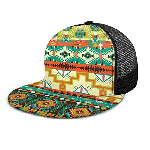 Baseballmütze Südwesten Südwesten Navajo Zusammenfassung Aztekische Hysteresenhüte Hut Hip Hop Plaid Flache verstellbare Baseballmützen