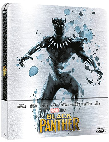 Black Panther - Steelbook 3D + 2D [Blu-ray]