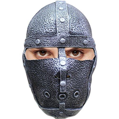 AEC - MAHAL667 - Masque latex adulte medieval