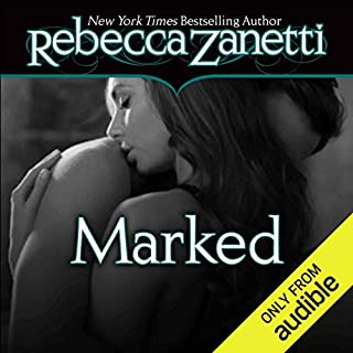 Marked audiobook cover art