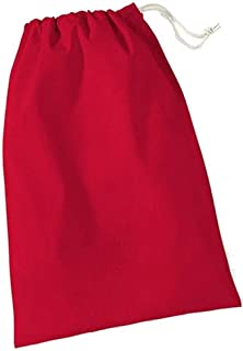 Westford Mill Cotton Stuff Bag - 0.25 To 38 Litres (UK Size: XL) (Classic Red)