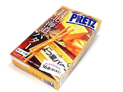 北海道限定 グリコジャイアントプリッツ 北海道バター