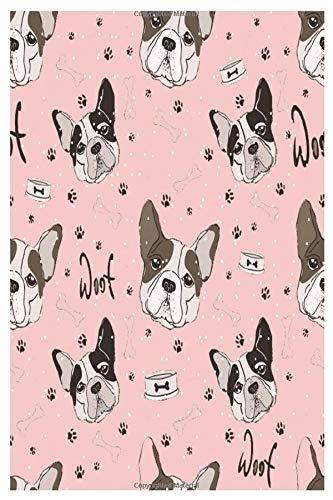 Bulldog journal & notebook gift: Namaste french bulldog journal | 120 pages | 6' x 9' inche | Bleed | Glossy | Boy & girl .