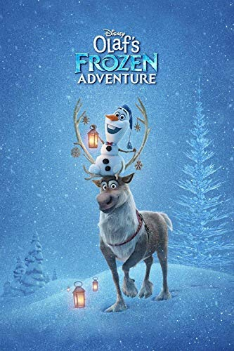 GUANGMANG 5D Diamond Painting Full Drill,Olaf'S Frozen Adventure Movie Posters,16'X24' DIY Diamond Painting by Number Kits, Rhinestone Crystal Drawing Gift for Adults Kids