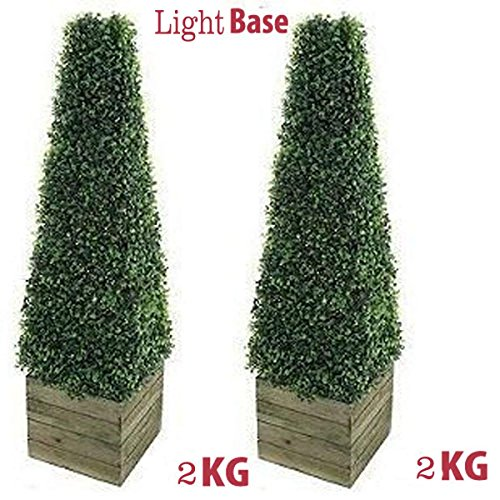 2 x Artificial Trees 3ft Pyramid...