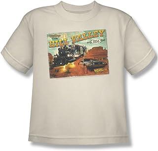 Back To The Future III - Regreso al futuro III - Juventud Hill Valley Postal Camiseta En Crema