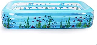 WGNHM Thickened Inflatable Bathtub, Portable Folding PVC Material Home Bath Bucket Children's Pool