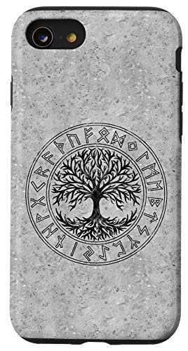 iPhone SE (2020) / 7 / 8 Celtic Tree of Life, Runes, Viking, Yggdrasil, Nordic Symbol Case