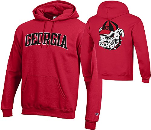 georgia bulldog hooded sweatshirt - 8