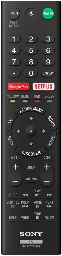 Sony RMF-TX200U Android TV Remote Sales of SALE items from new works Max 76% OFF Voice Control