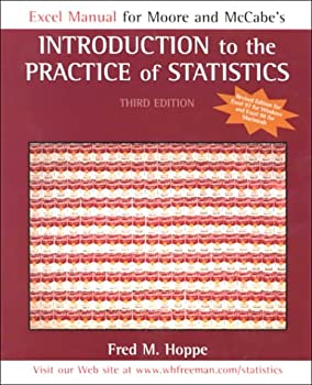 Excel Guide Revised: for Introduction to the Practice of Statistics 3e 0716740036 Book Cover