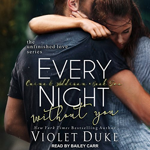 Every Night Without You, Caine & Addison audiobook cover art