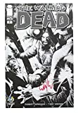 Toynk The Walking Dead #1 WW Chicago '13 Exclusive B&W Cover Signed by Whilce Portacio