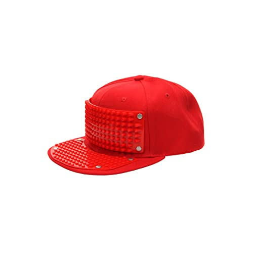 NEW Lego Red Baseball Hat Minifig Headgear Cap For City Town Minifigures