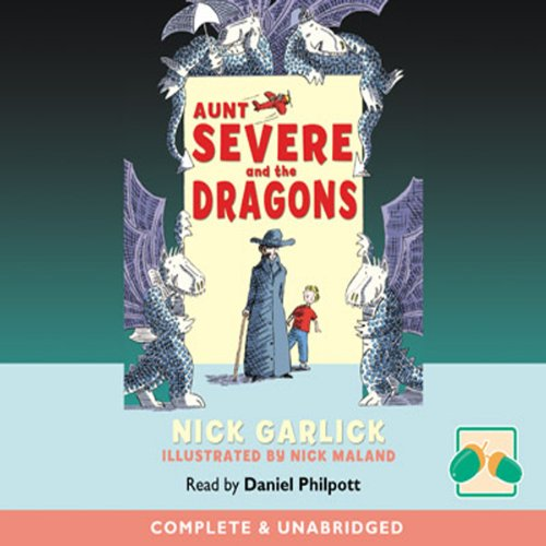 Aunt Severe and the Dragons audiobook cover art